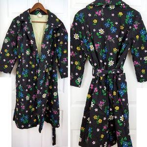 Vintage 60s Housecoat Robe Lynn Caryl Chicago